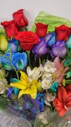 0 cut flowers bouquet assorted colorful