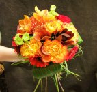 1 Autumn Bridal Bouquet