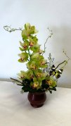 1 Butterfly Orchid flower arrangement