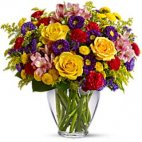 Brighten And Colour Your Day Bouquet