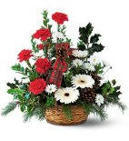 1 a Christmas Winter Wonderland Basket