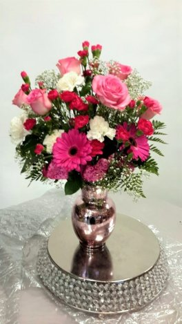 0 a Flowers, pinks for you