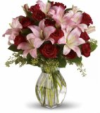 1 1 a Lavish Love lilies roses