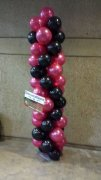 1 a balloon pillar