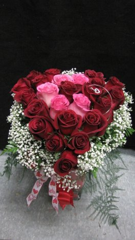 1 Adorable Heart and Soul Roses