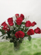 0 a red roses delight , premium, deluxe