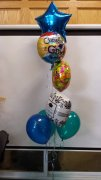 1 Balloon Bouquet graduation