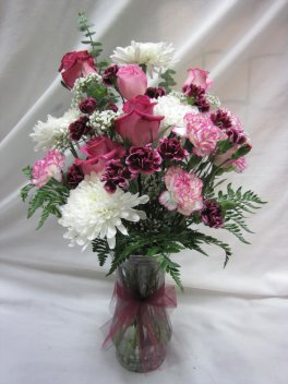 A Pretty in Pink vase