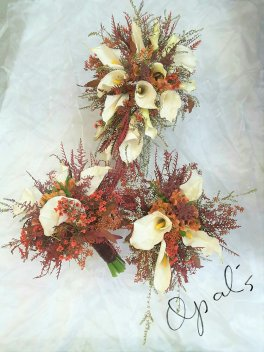 1 1 a bridal bouquet callas fall flair