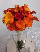 1 bridal bouquet autumn colours
