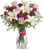 1 1 ALL Pinks Butterfly Bouquet