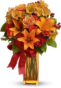 Orange Crush Arrangement
