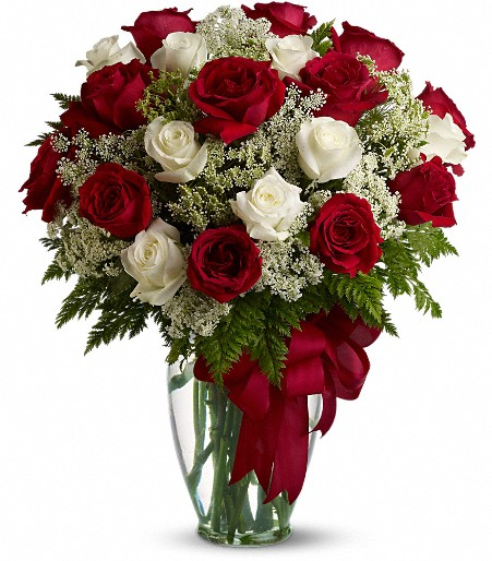 But loves divine red and white loves divine12 red roses 12 white click to enlarge negle Images