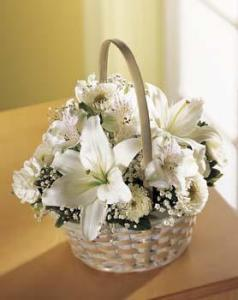 A Celebration Bouquet, White - Click Image to Close